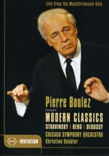 Pierre Boulez dirigiert, DVD