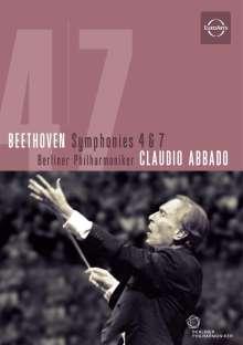 Ludwig van Beethoven (1770-1827): Symphonien Nr.4 & 7, DVD