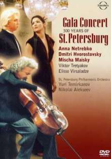 Anna Netrebko & Dmitri Hvorstovsky - St.Petersburg Gala, DVD