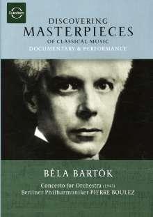 Discovering Masterpieces - Bela Bartok, DVD