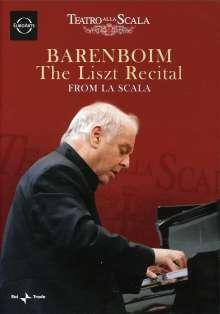 Daniel Barenboim - The Liszt Recital from La Scala, DVD