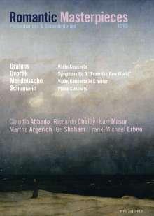 Romantic Masterpieces - Aufführungen & Dokumentationen, 4 DVDs