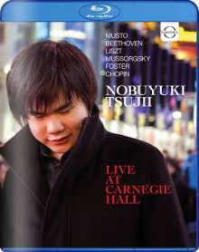 Nobuyuki Tsujii - Live At Carnegie Hall, Blu-ray Disc