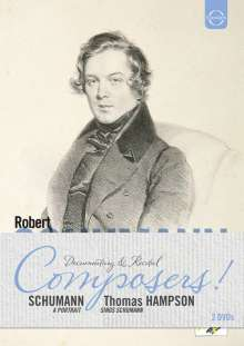 """Robert Schumann (1810-1856): """"Robert Schumann - A Portrait"""" & """"Thomas Hampson sings Schumann"""", 2 DVDs"""