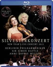 Silvesterkonzert in Berlin 31.12.2015, Blu-ray Disc