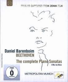Ludwig van Beethoven (1770-1827): Klaviersonaten Nr.1-32, 3 Blu-ray Discs