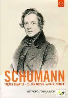 Takacs Quartet - Schumann, DVD