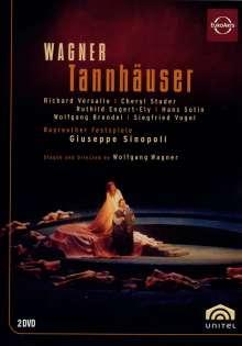 Richard Wagner (1813-1883): Tannhäuser, 2 DVDs