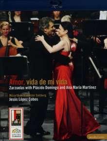 Placido Domingo & Ana Maria Martinez - Amor, vida de mi vida, Blu-ray Disc