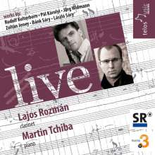 Lajos Rozman & Martin Tchiba - Live, CD
