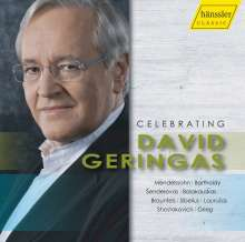 David Geringas - Celebrating David Geringas, CD