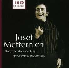Josef Metternich - Kraft, Dramatik, Gestaltung, 10 CDs