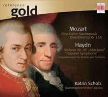 "Joseph Haydn (1732-1809): Symphonie Nr.45 ""Abschieds-Symphonie"", CD"