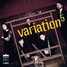 Variation5 - Nielsen / Hindemith / Francaix / Arnold, CD