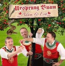 Ursprung Buam: Adam & Eva, CD