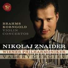 Nikolaj Znaider spielt Violinkonzerte, CD
