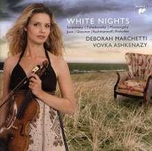 Deborah Marchetti - White Nights (Werke f.Violine & Klavier), SACD