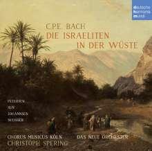 Carl Philipp Emanuel Bach (1714-1788): Die Israeliten in der Wüste, CD