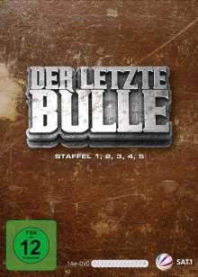 Der letzte Bulle Staffel 1-5, 14 DVDs