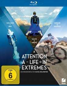 Attention: A Life in Extremes (Blu-ray), Blu-ray Disc
