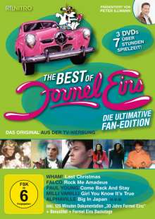 Formel Eins: Die ultimative Fan Edition, 3 DVDs