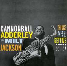 Cannonball Adderley Things Are Getting Better 140g Lp