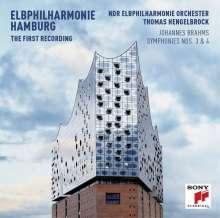 ohannes Brahms: Symphonien Nr.3 & 4 (Die erste Aufnahme aus der neuen Elbphilharmonie Hamburg)