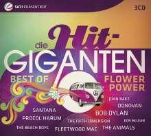 Die Hit Giganten: Best Of Flower Power, 3 CDs
