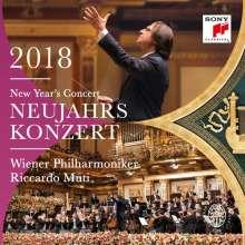 Neujahrskonzert 2018 der Wiener Philharmoniker