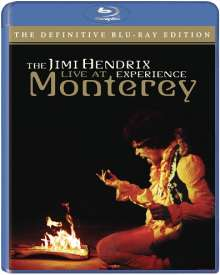 Jimi Hendrix: American Landing: Jimi Hendrix Experience Live At Monterey 1967, Blu-ray Disc