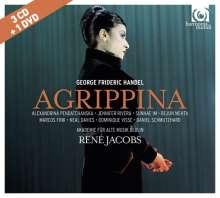 Georg Friedrich Händel (1685-1759): Agrippina (Deluxe-Edition mit DVD), 3 CDs