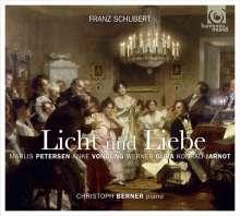 """Franz Schubert (1797-1828): Lieder & Vokalquartette - """"Licht und Liebe"""", CD"""