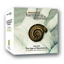 "Generation harmonia mundi 1958-1988 ""The Age of Revolution"", 16 CDs"