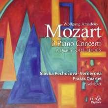 Wolfgang Amadeus Mozart (1756-1791): Klavierkonzerte Nr.11-13 (in der Fassung für Klavierquintett), SACD