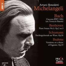 Arturo Benedetti Michelangeli, Klavier, SACD