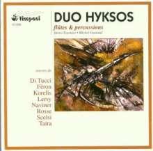 Di Tucci / Scelsi / Taira/+: Duo Hyksos-Flöte & Perc, CD