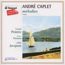 Andre Caplet (1878-1925): Lieder, CD