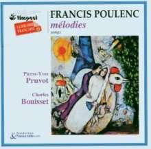 Francis Poulenc (1899-1963): Lieder, CD