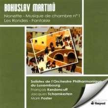 Bohuslav Martinu (1890-1959): Kammermusik Nr.1 für Klarinette,Streichtrio,Harfe,Klavier, CD
