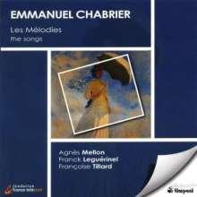 Emanuel Chabrier (1841-1894): Lieder, CD