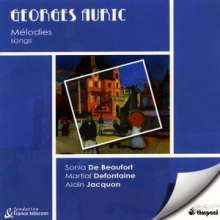 Georges Auric (1899-1983): Lieder, CD
