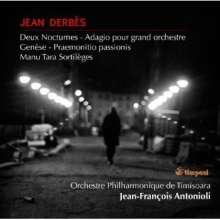 Jean Derbes (1937-1982): Nocturnes Nr.1 & 2, CD