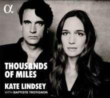 Kate Lindsey - Thousand of Miles, CD