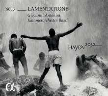 Joseph Haydn (1732-1809): Haydn-Symphonien-Edition 2032 Vol.6 - Lamentatione, CD