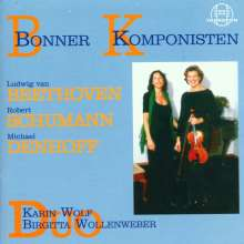 Michael Denhoff (geb. 1955): Champs de mars op.9 für Viola & Klavier, CD