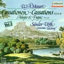 Wolfgang Amadeus Mozart (1756-1791): Cassationen KV 63 & 99, CD