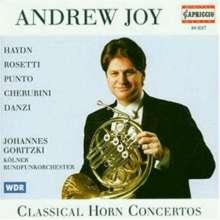 Andrew Joy spielt Hornkonzerte, CD