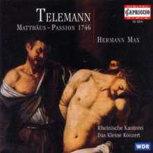 Georg Philipp Telemann (1681-1767): Matthäus-Passion (1746), CD
