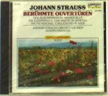 Strauß (Sohn),Johann: Berühmte Ouvertüren, CD