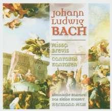 """Johann Ludwig Bach (1677-1731): Missa Brevis """"Allein Gott in der Höh sei Ehr"""", CD"""